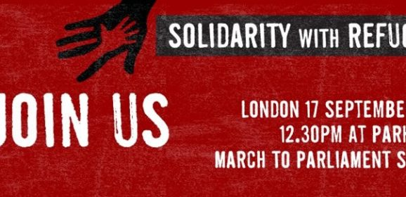 Solidarity with Refugees, London Sept 2016