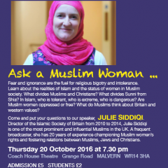 Ask a Muslim woman…