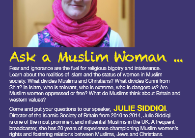 Ask a Muslim woman…