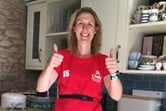 Jen runs a marathon to raise funds for Malvern Welcomes
